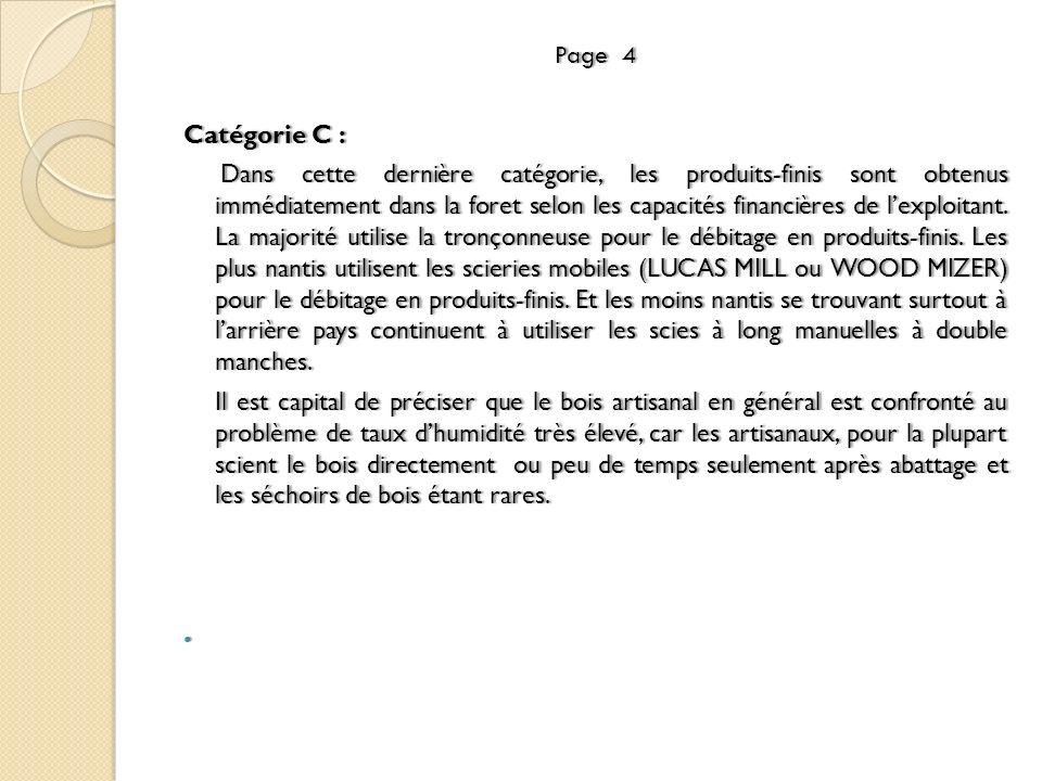 Page 4 Catégorie C :