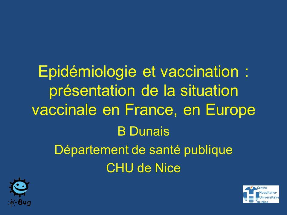 B Dunais Département de santé publique CHU de Nice