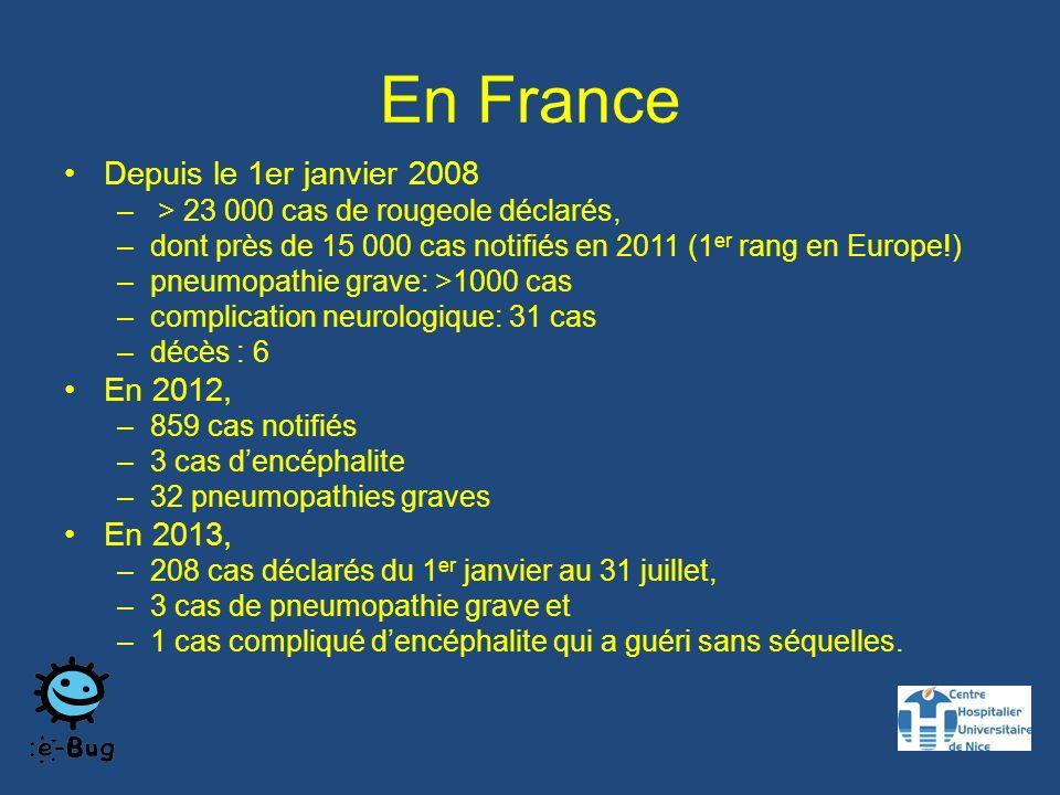En France Depuis le 1er janvier 2008 En 2012, En 2013,