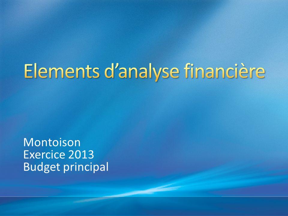 Elements d'analyse financière