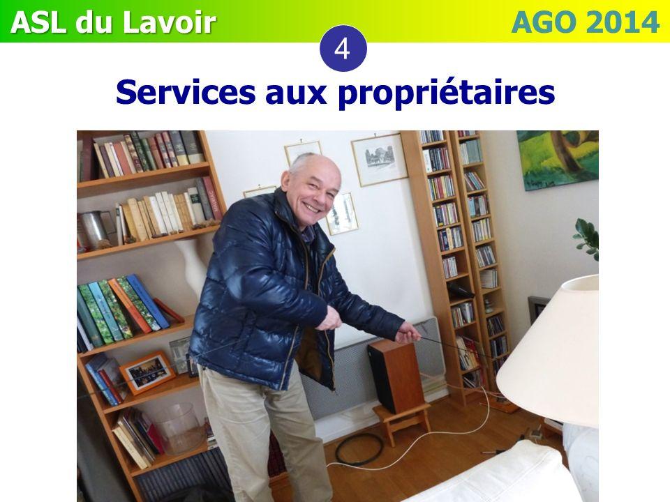 Services aux propriétaires