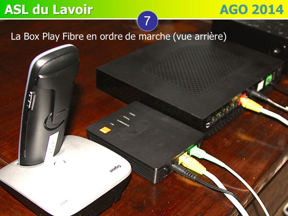 7 La Box Play Fibre en ordre de marche (vue arrière)
