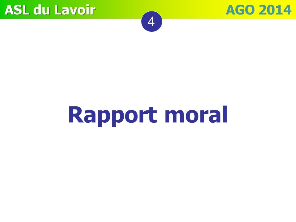 31/03/2017 4 Rapport moral 8
