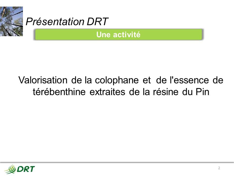 Présentation DRT Une activité.