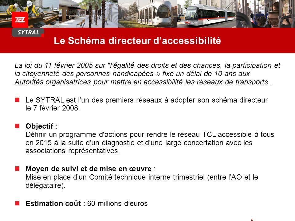 Le Schéma directeur d'accessibilité