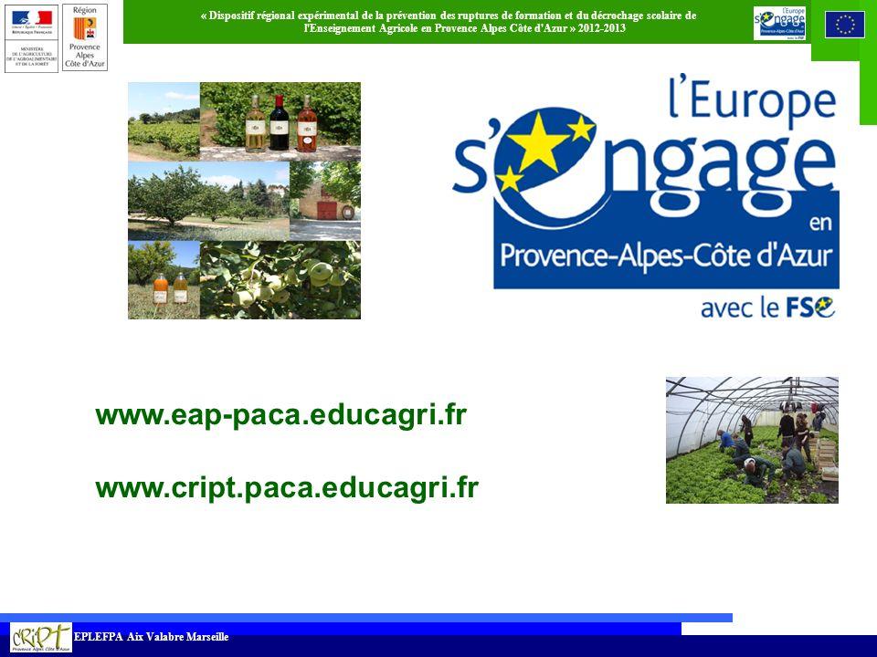 www.eap-paca.educagri.fr www.cript.paca.educagri.fr 31 31