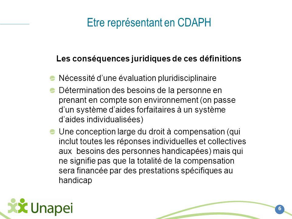 Etre représentant en CDAPH