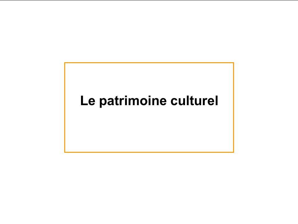 Le patrimoine culturel