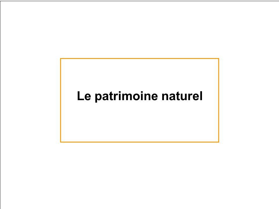 Le patrimoine naturel