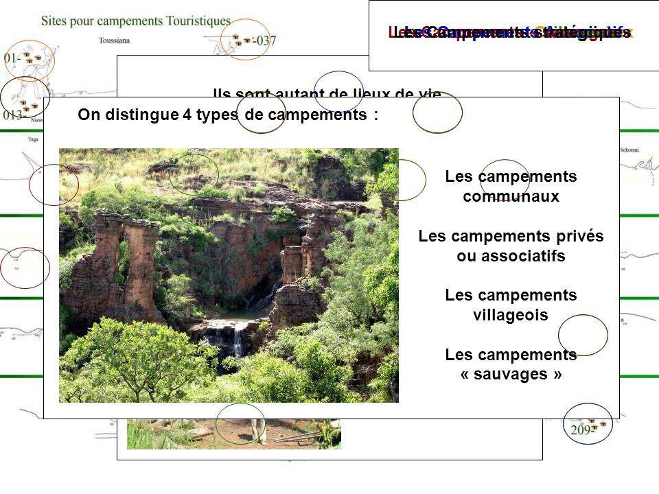+ Gnafongon Les Campements « sauvages » Les Campements stratégiques