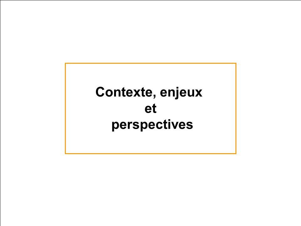 Contexte, enjeux et perspectives