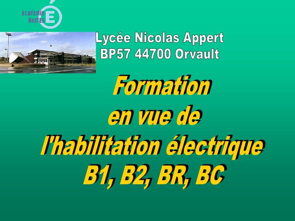 l habilitation électrique