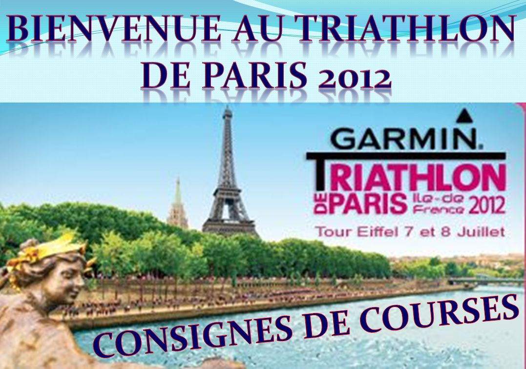 BIENVENUE AU TRIATHLON