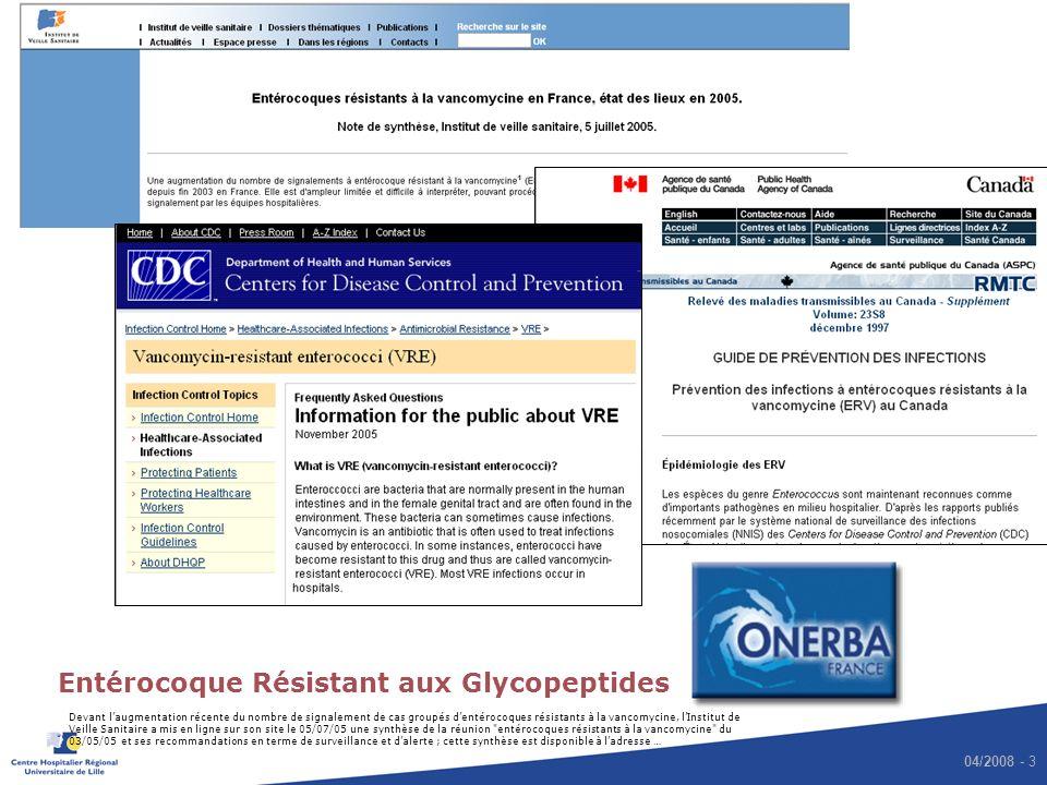 Entérocoque Résistant aux Glycopeptides