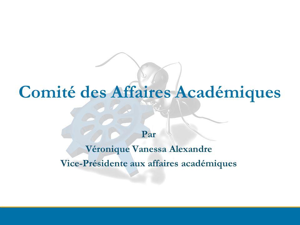 Comité des Affaires Académiques