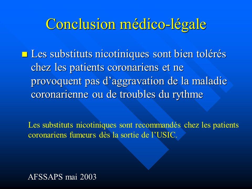 Conclusion médico-légale