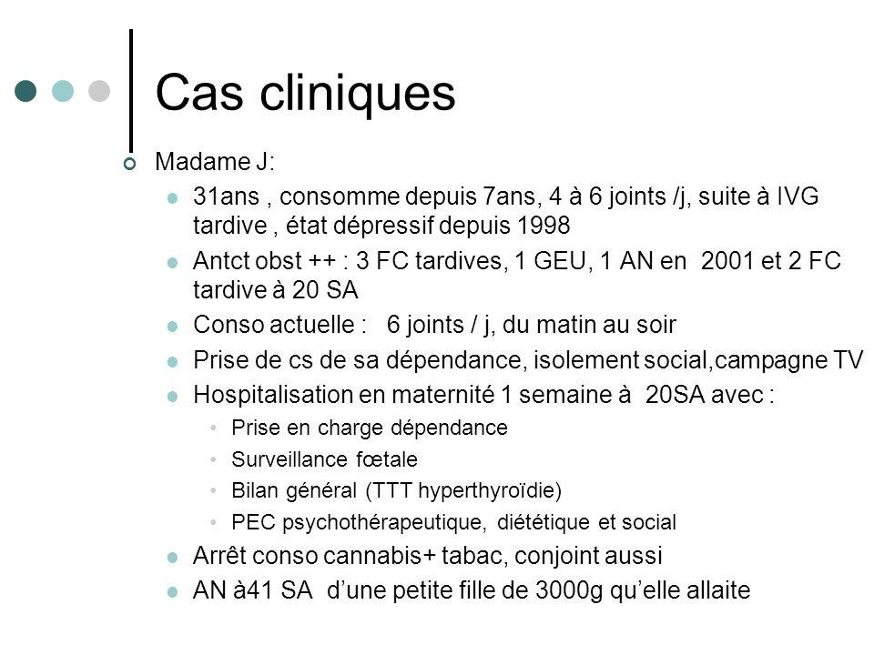 Cas cliniques Madame J: