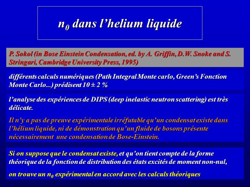 n0 dans l'helium liquide