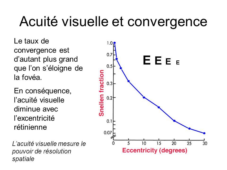 Acuité visuelle et convergence