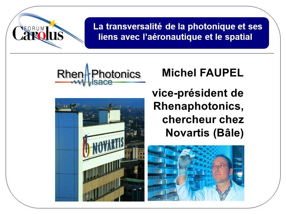 vice-président de Rhenaphotonics, chercheur chez Novartis (Bâle)
