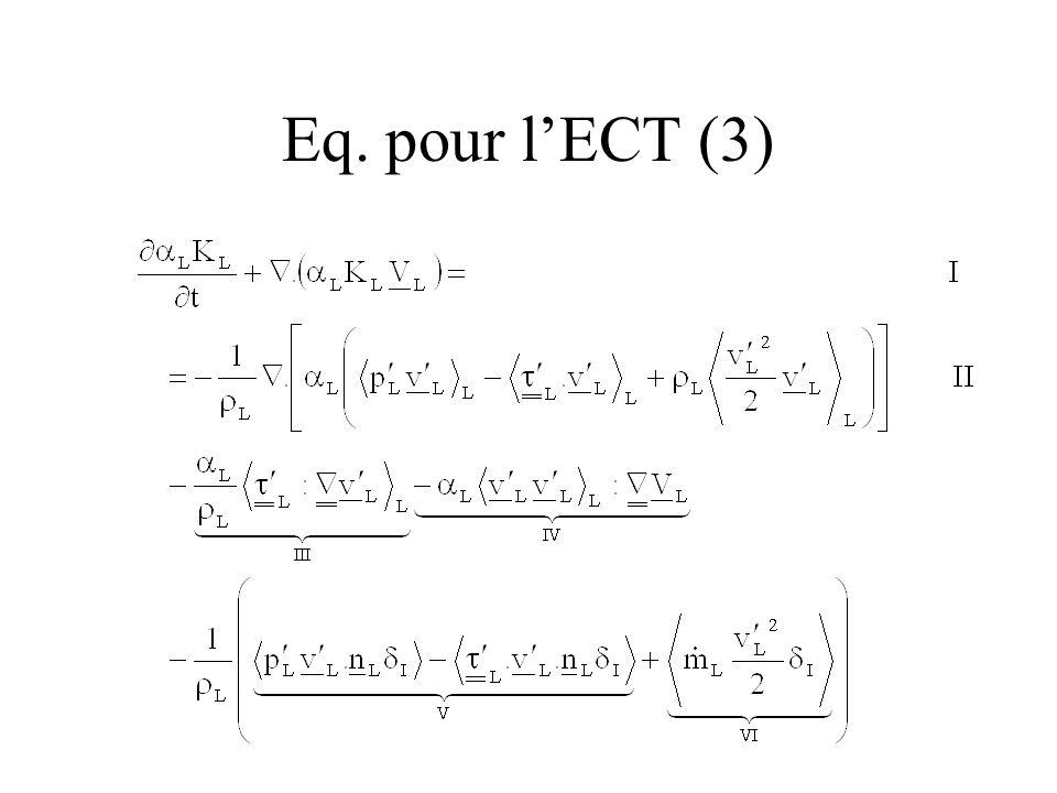 Eq. pour l'ECT (3)