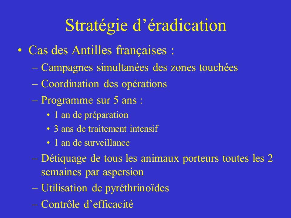 Stratégie d'éradication