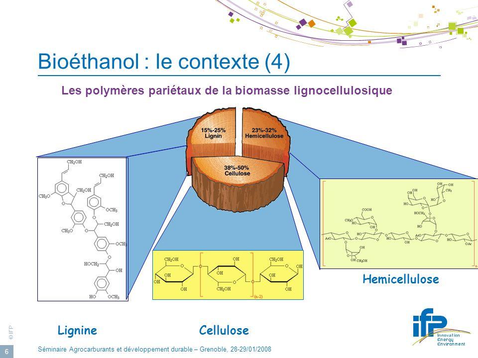 Bioéthanol : le contexte (4)