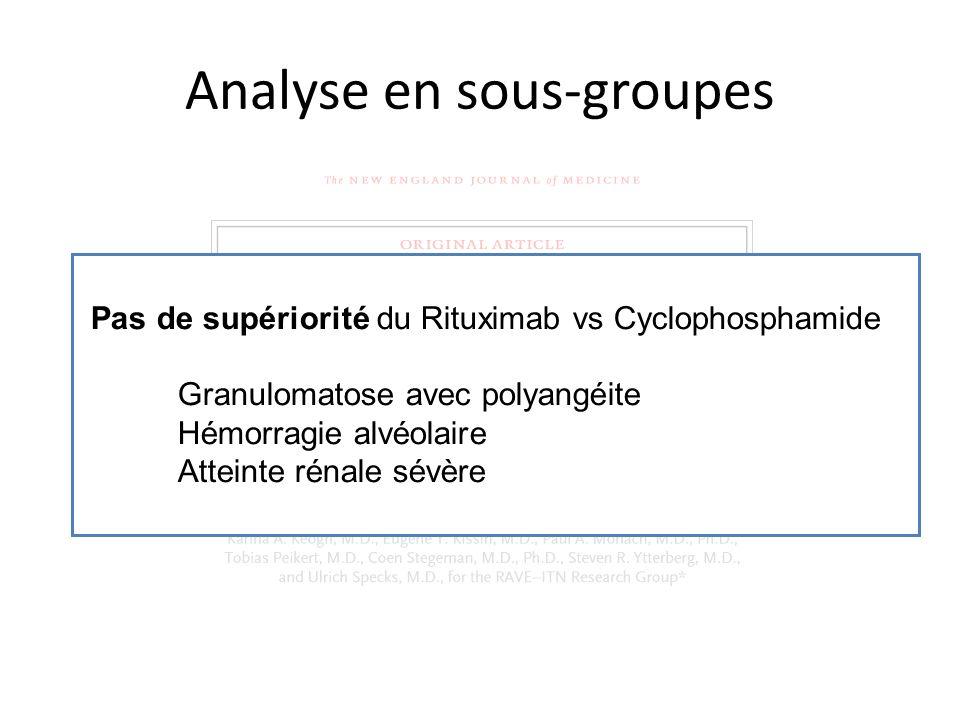 Analyse en sous-groupes
