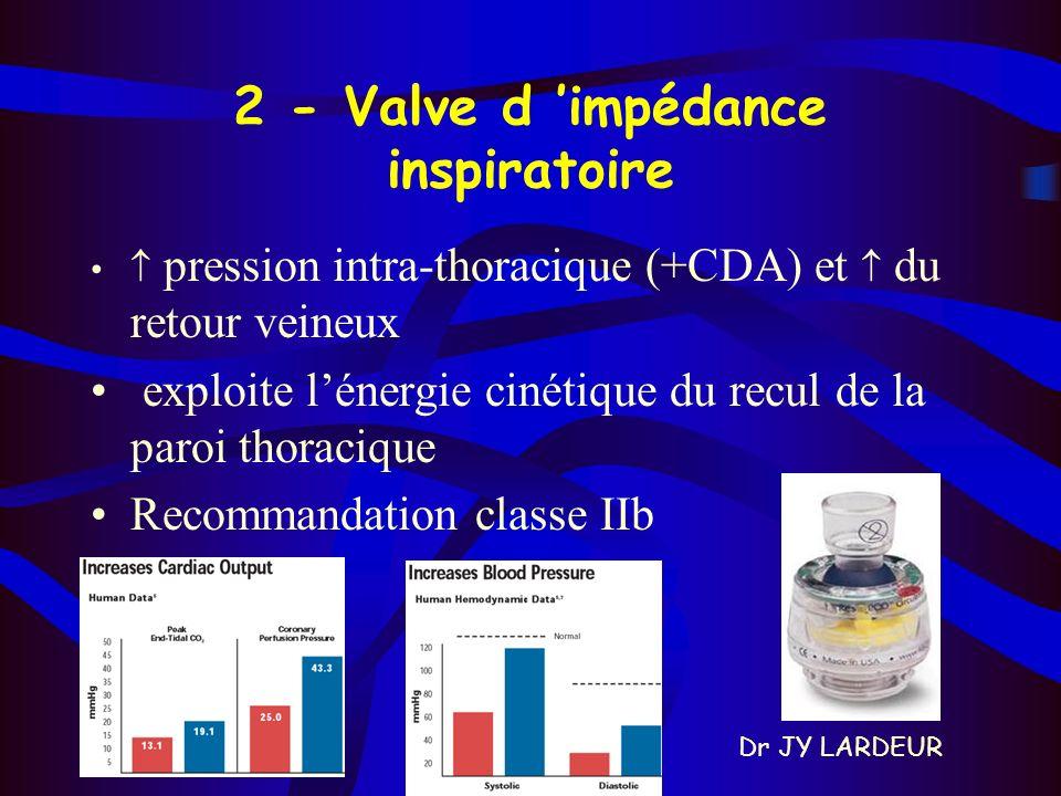 2 - Valve d 'impédance inspiratoire