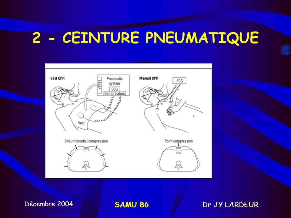 2 - CEINTURE PNEUMATIQUE