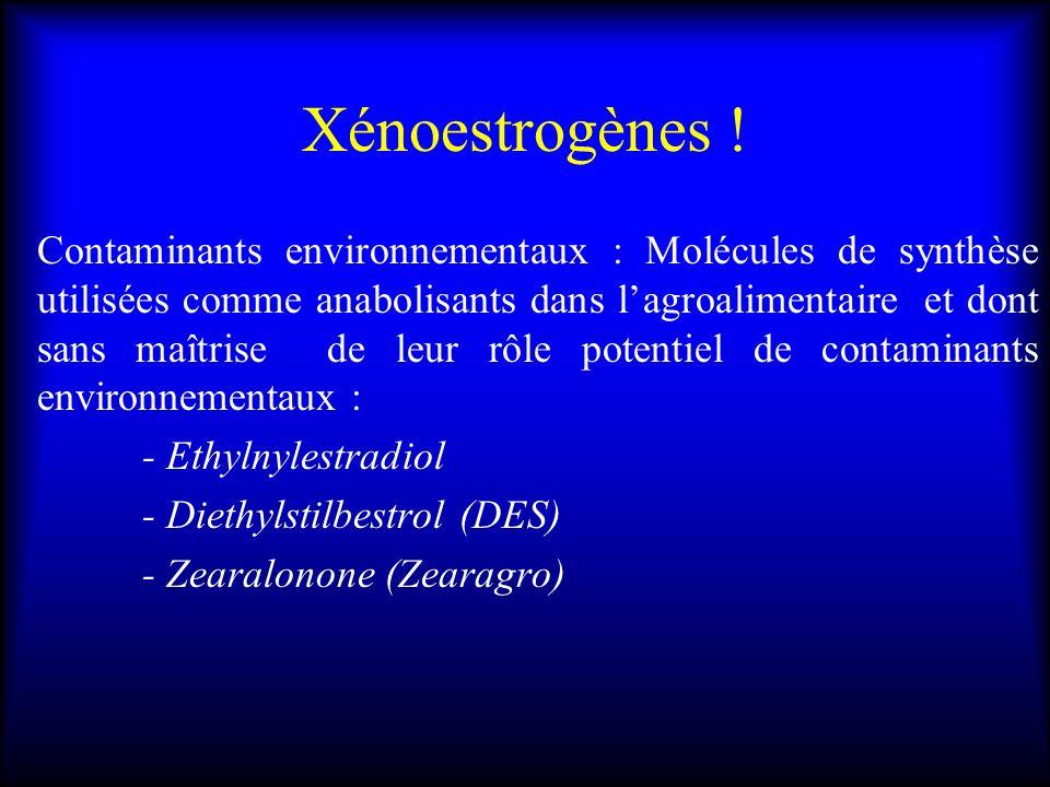 Xénoestrogènes !