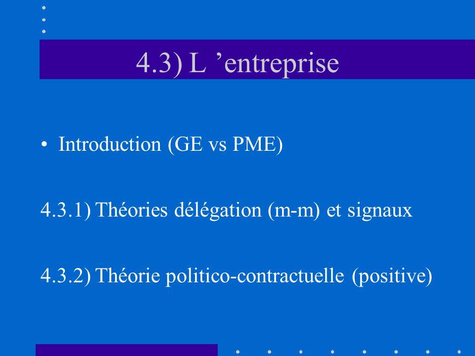 4.3) L 'entreprise Introduction (GE vs PME)