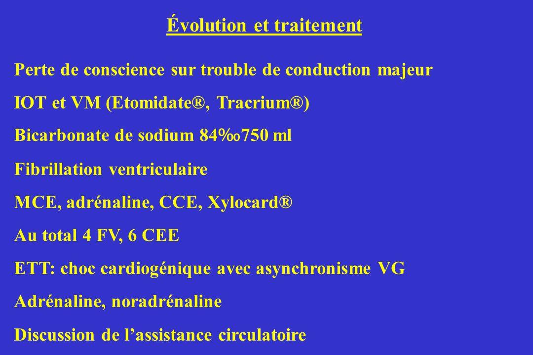 Évolution et traitement