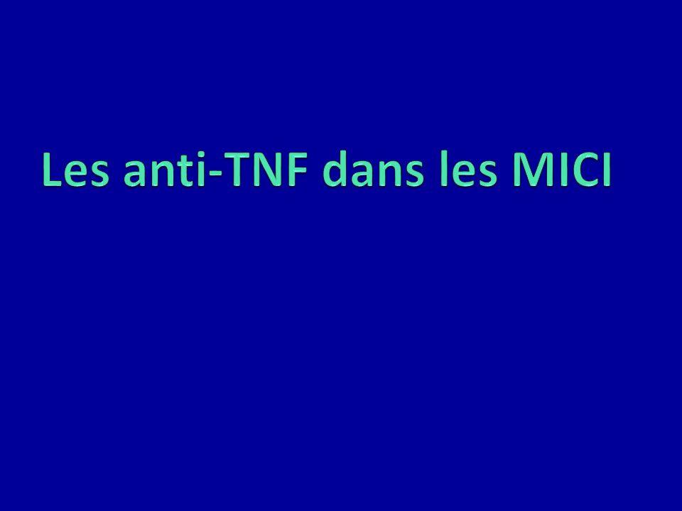 Les anti-TNF dans les MICI