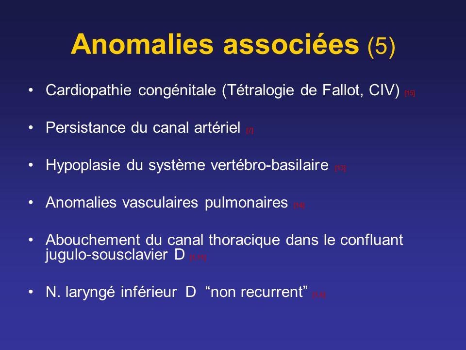Anomalies associées (5)