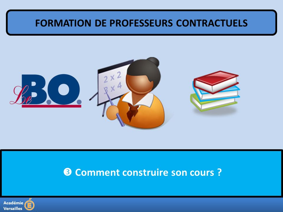FORMATION DE PROFESSEURS CONTRACTUELS