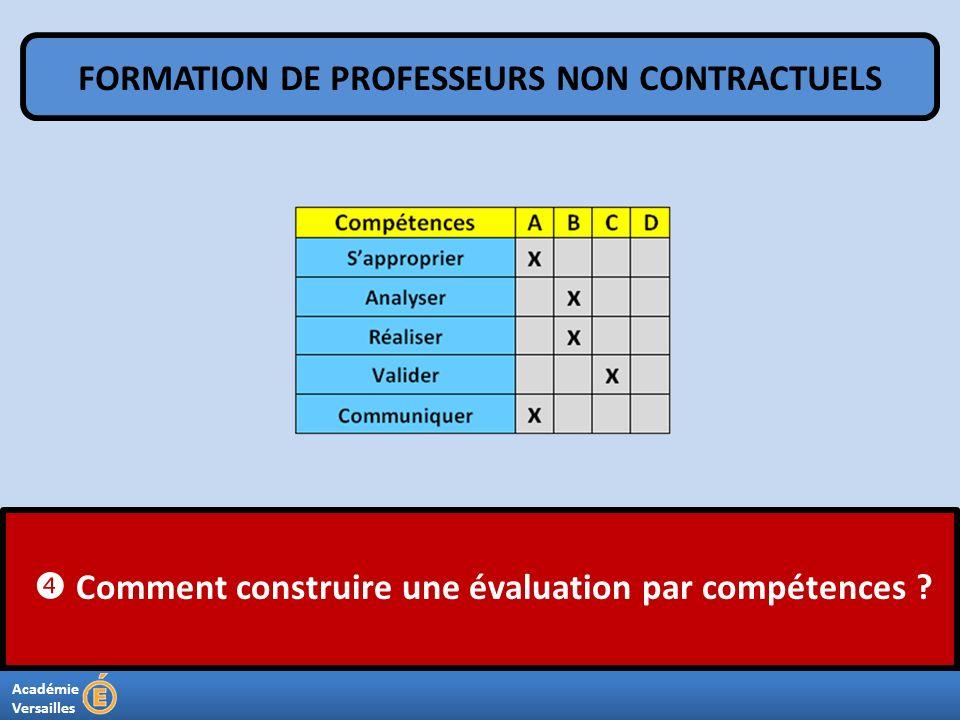 FORMATION DE PROFESSEURS NON CONTRACTUELS
