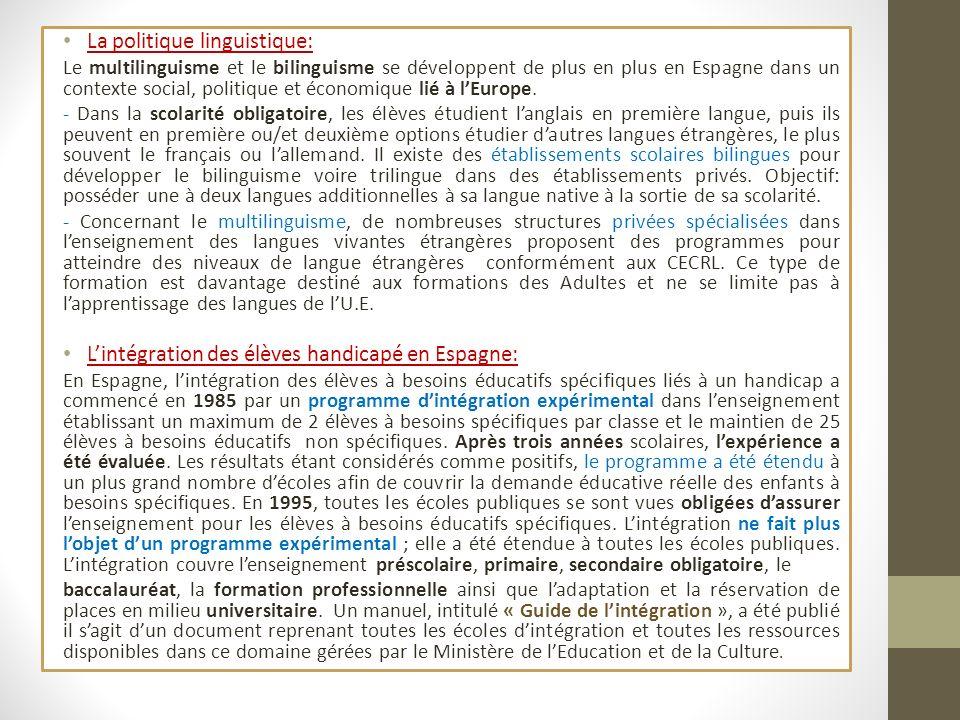 La politique linguistique: