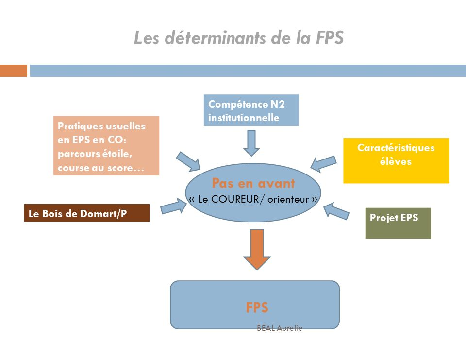 Les déterminants de la FPS