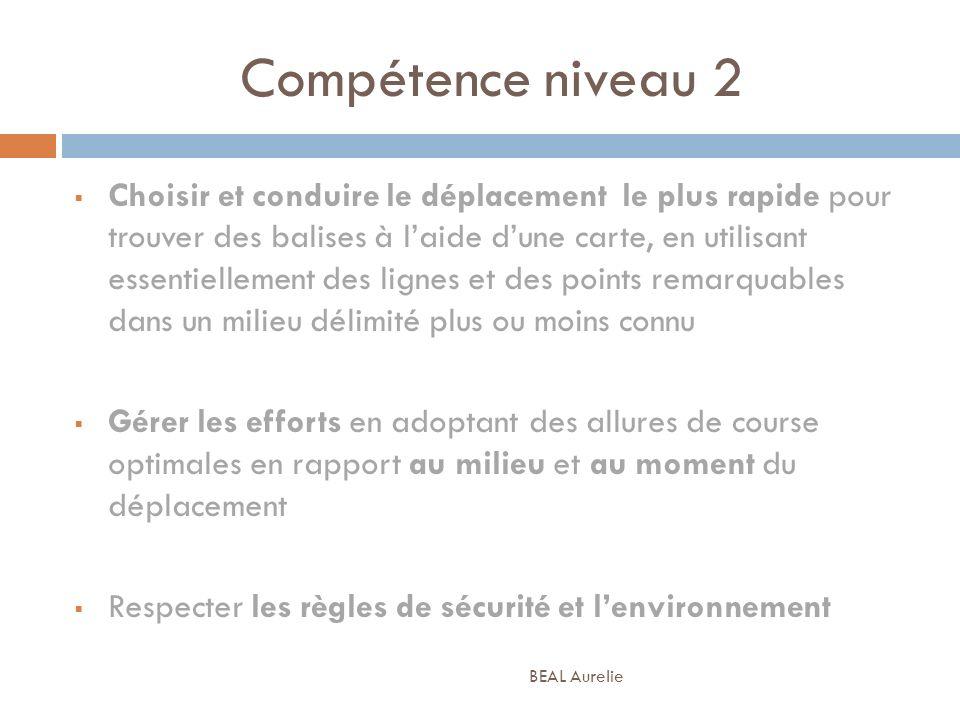Compétence niveau 2