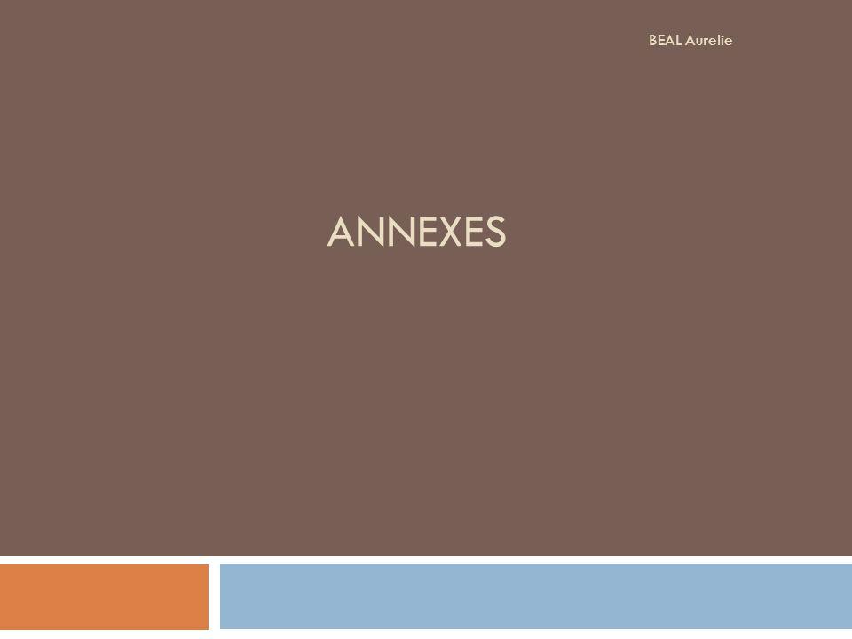 BEAL Aurelie ANNEXES