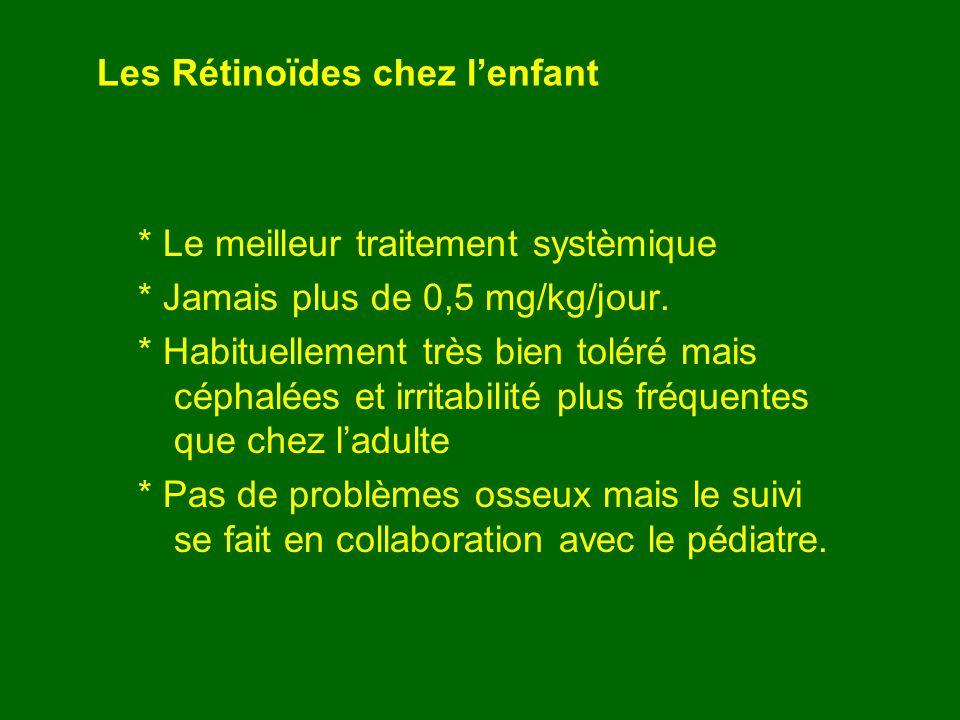 Les Rétinoïdes chez l'enfant
