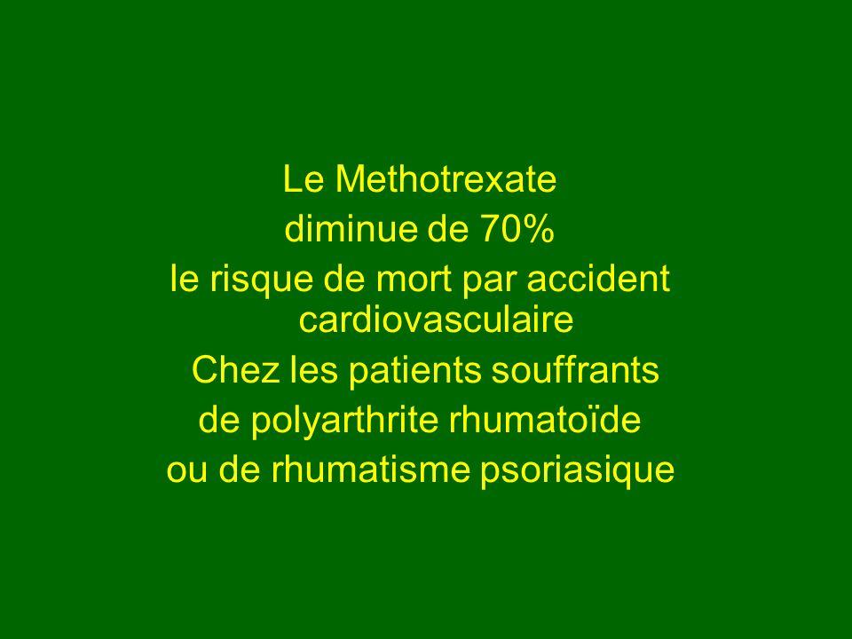 le risque de mort par accident cardiovasculaire