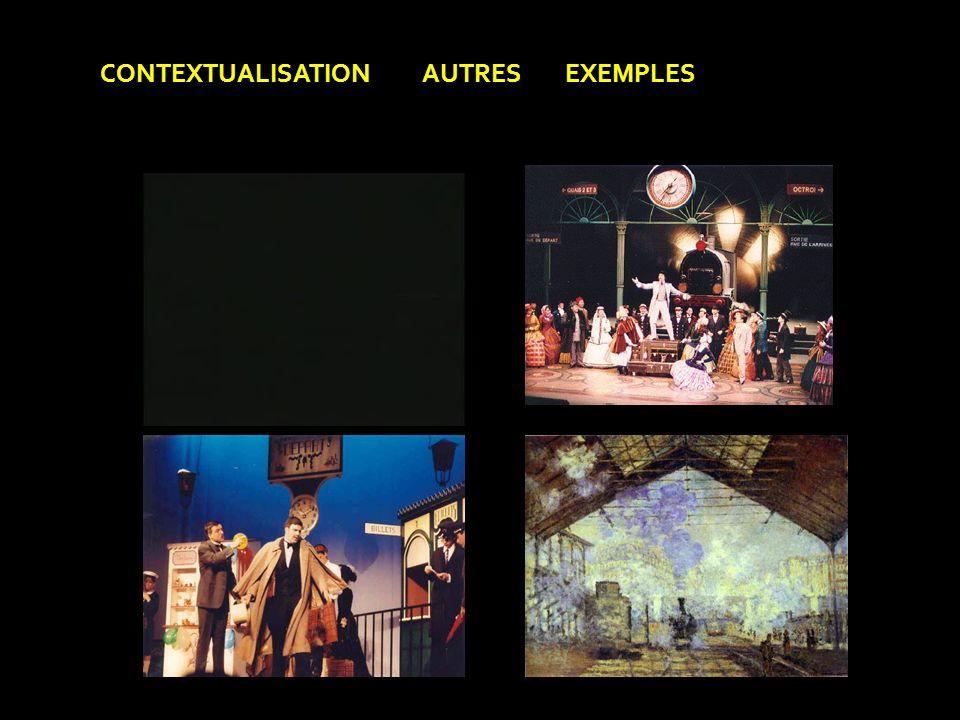 CONTEXTUALISATION AUTRES EXEMPLES