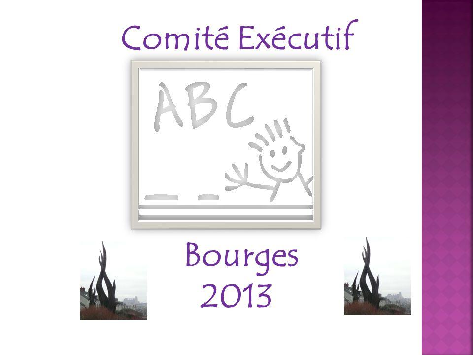 Comité Exécutif Bourges