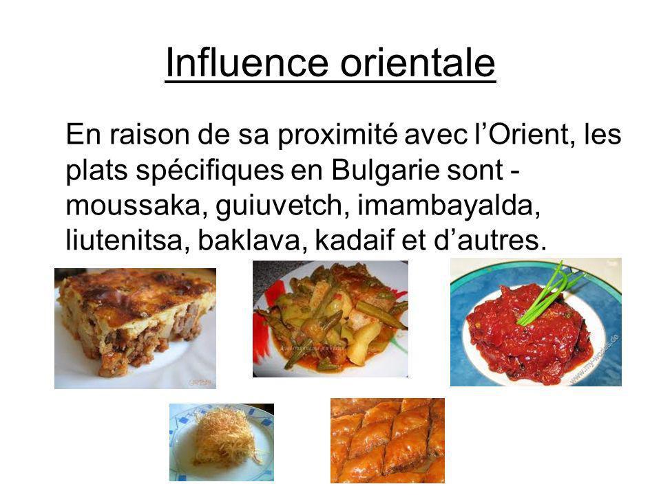 Influence orientale
