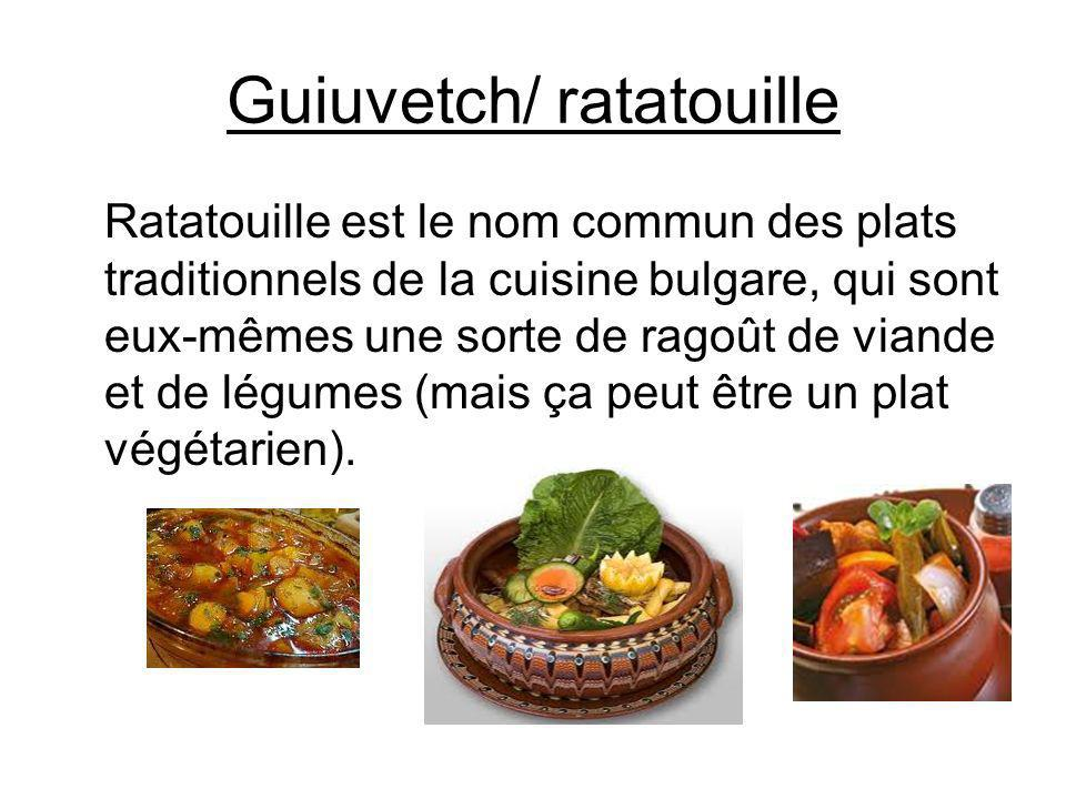 Guiuvetch/ ratatouille