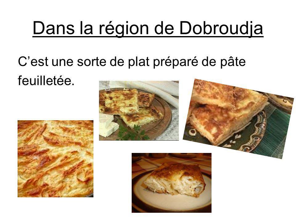 Dans la région de Dobroudja