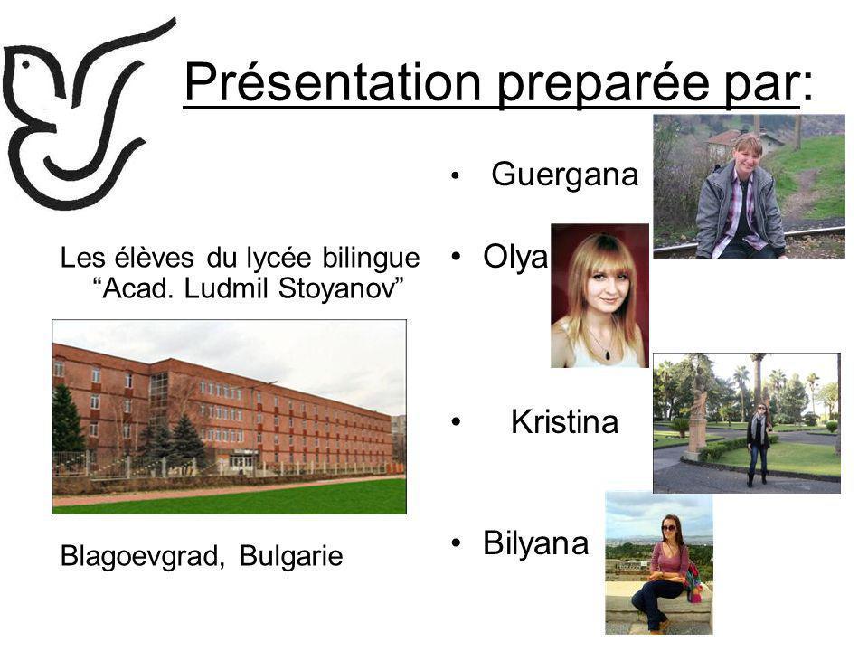 Présentation preparée par: