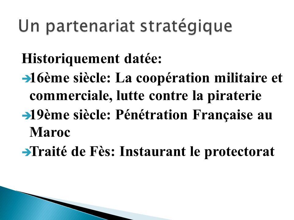 Un partenariat stratégique